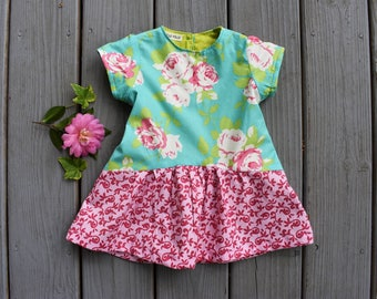French Flowers Dress