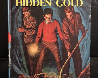 1963 The Hardy Boys Hunting for Hidden Gold