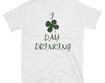 St Patricks Day Shirt Distressed Shamrock