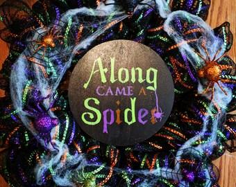Along Came a Spider Wreath