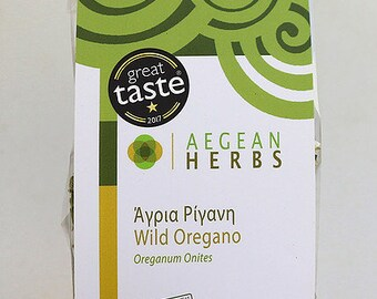 Wild oregano from Amorgos-Greece-London great taste 2017