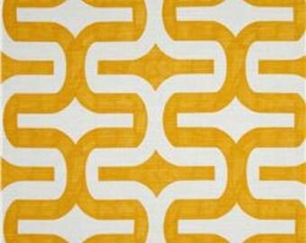 Premier Prints Embrace Slub Corn Yellow Lumbar Indoor Pillow Cover with Hidden Zipper