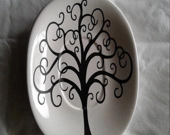 tree of life jewelry dish