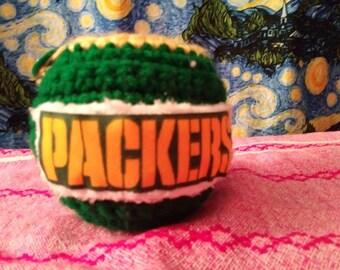 Green Packer Backer Fruit Cozy