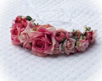 Flower Crown - Pink