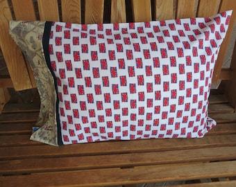 Novelty Pillowcase - British Themed / England Pillowcase / U.K - Union Jack