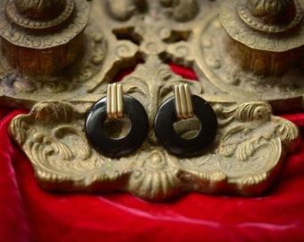Asian Inspired Vintage Earrings
