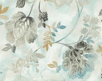 BLUE Tablecloth | Aqua | Beige | Wide Tablecloths | Floral Tablecloth | Thanksgiving Table Decor | Easter Table Runner | Easter Tablecloth