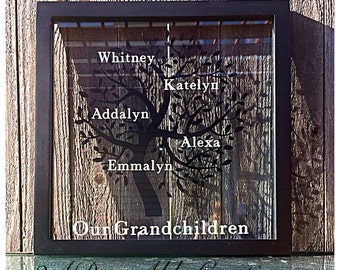 Personalized Family Tree - Mother's Day gift