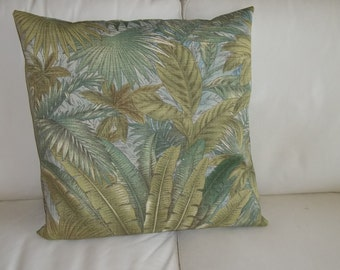Indoor/Outdoor  Pillow Cover Tommy Bahama Tropical Fern 20 x 20 Pillow Cover