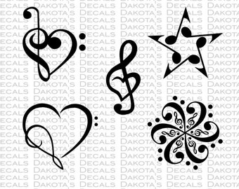 Music Collection SVG for Download