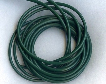3mm FOREST GREEN TUBING