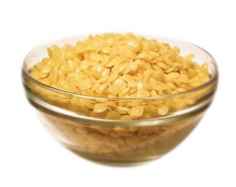 12 oz Beeswax Yellow Organic 100% Pure Natural