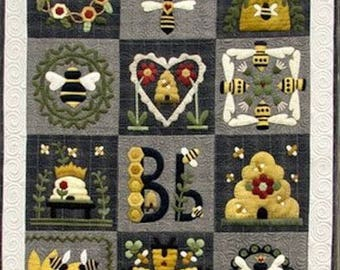 Pattern: Blessed Bee Quilt by Wooden Spool Designs