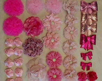 35 pcs flower lot