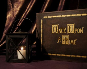 Once Upon A Time Storybook Book Replica eReader / Kindle / iPad / Tablet Custom Device Cover / Journal (Inspired by OUAT)