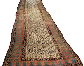 SUPERB Vintage Persian Runner  rr2803