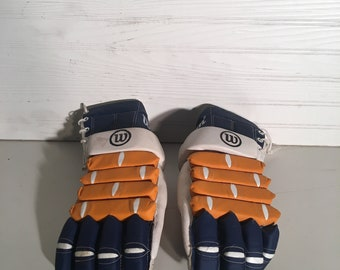 Vintage WILSON Ice Hockey Gloves H-8230 Horeshide Leather