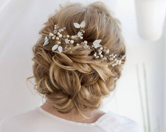 Crystal Headpiece Bridal Headpiece Wedding Headpiece Wedding Hair Vine Bridal Hair Vine Bridal Hair Piece Wedding Hair Piece Bridal Wreath