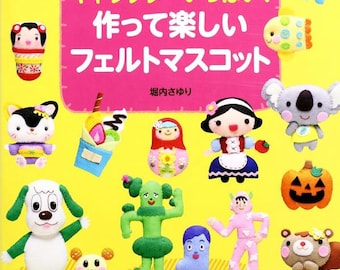 CUTE FELT Characters n37141 Craft Book