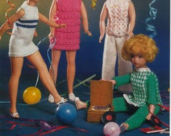 PDF Knitting Pattern Sindy Dance Party