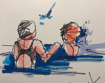 Sister Swimmers
