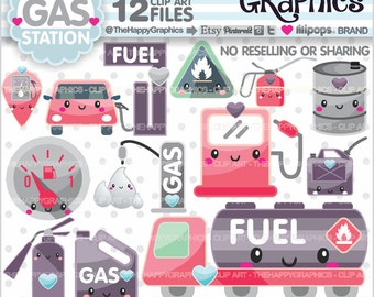 Gas Clipart, 80%OFF, Gas Graphic, COMMERCIAL USE, Gas Station Clipart, Planner Accessories, Gas Pump Graphics, Gas Icons, Petrol