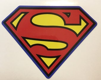 Superman themed Vinyl Decal