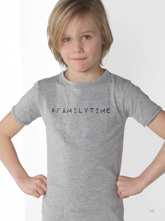 Boyt-shirt or body stripes #FAMILYTIME
