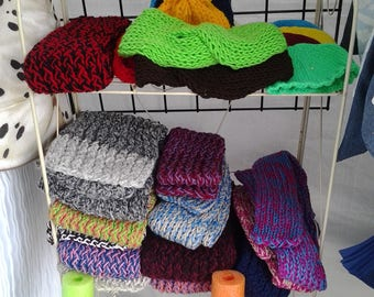 Winter neck scarfs
