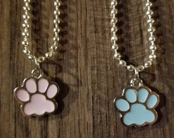 Paws Collection (blue pawprint)