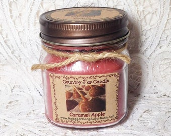 Jar Candle - Half Pint - Caramel Apple