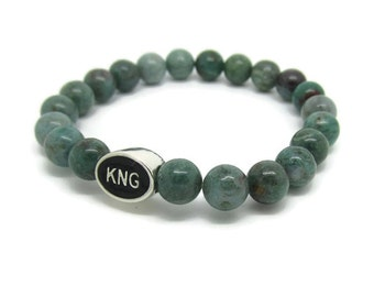 Kingston, KNG, Kingston Jewelry, Kingston Bracelet, Kingston Gifts, Green Quartz