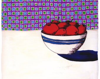 Fruit with Wallpaper (Limited Edition Print)