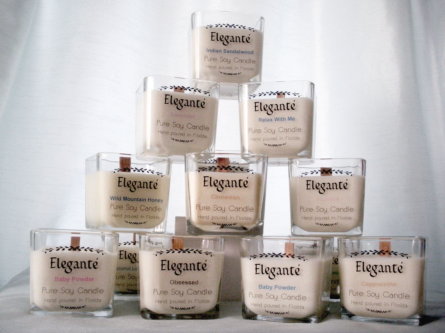 Personalized Candle Labels Candle Labels Custom Candle