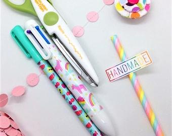 Custom Stickers, Packaging Sticker, Handmade Rainbow, Sticker Sheet