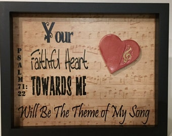Psalm 71:22 Shadow Box