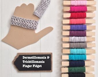 Index Finger Dermatillomania Help - Trichtillomania Habit Helper - Excoriation Disorder - Finger Cover - Finger Guard - Finger Bandage