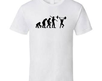 The Evolution Of Crossfit Fun Sports T Shirt