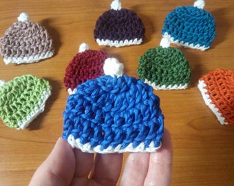 beanie brooch for men and women, ugly christmas sweater party accessory, hat pin for jacket under 10 dollars, perfect for kids and adults