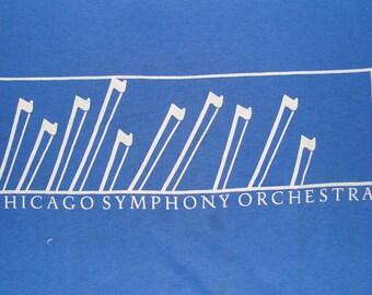 Vintage 80s Chicago Symphony Orchestra T Shirt