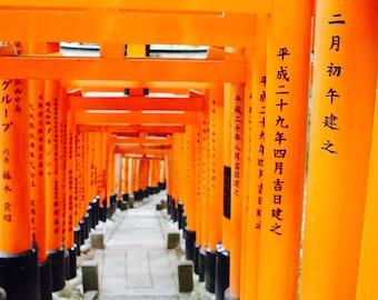 Fushimi Inari-taisha Shrine Exclusive A4 Print