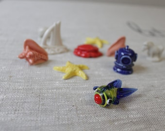 Vintage Little Sea Life Figurines