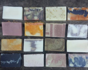 Soap of the Month Club, 6 months of soap, a bar a month of essential oil soaps delivered to your door.