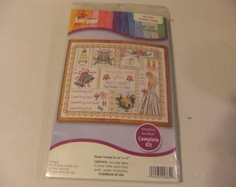 WEDDING COLLAGE Counted Cross Stitch Kit - Janlynn Needlecraft - No. 999-5012