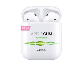 AirPod Gum Case · Sticker for Apple AirPod case
