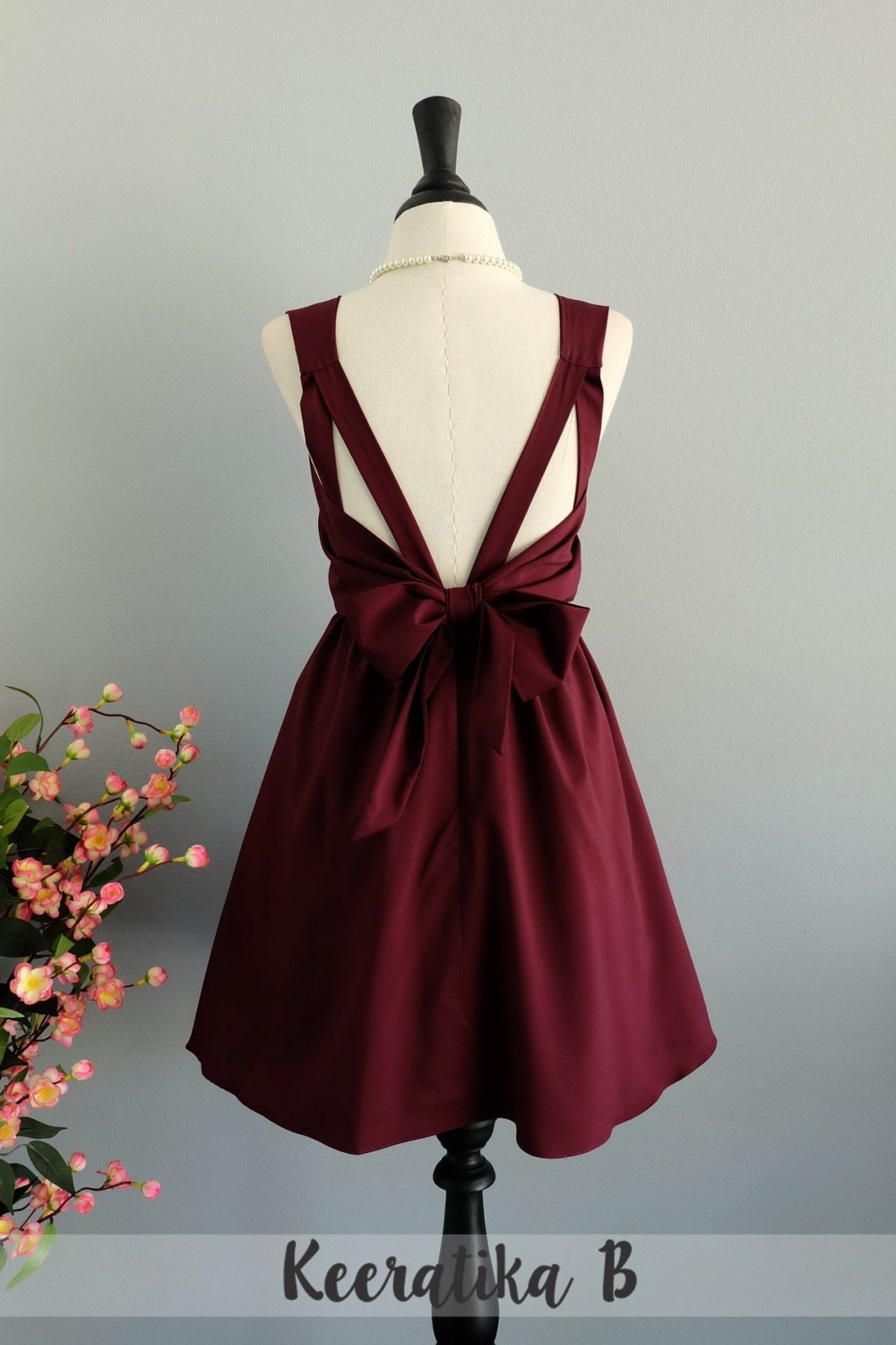 Maroon dress red dress maroon party dress dark red prom dress zoom ombrellifo Image collections