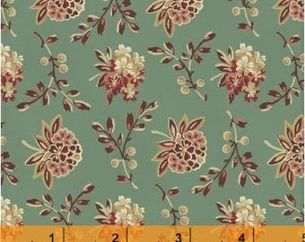 Coryn - Bouquet Teal from Windham Fabrics