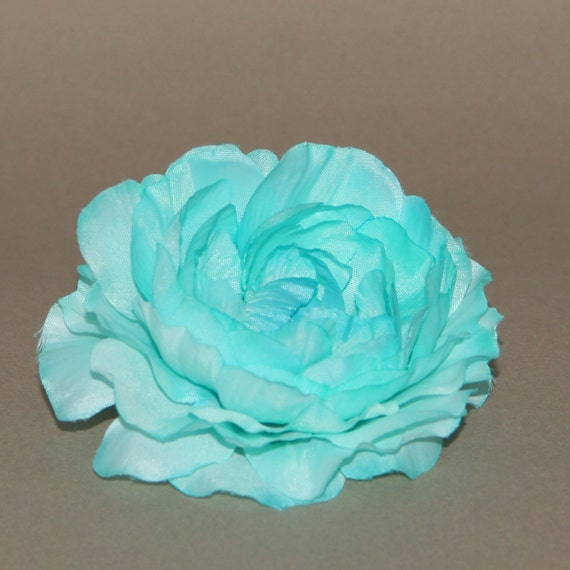 Light turquoise silk ranunculus artificial flower heads silk light turquoise silk ranunculus artificial flower heads silk flowers from silkinspirations on etsy studio mightylinksfo