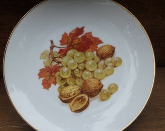 Set of Five Bareuther Waldsassen Plates